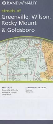 Rand McNally Streets of Greenville, Wilson, Rocky Mount & Goldsboro