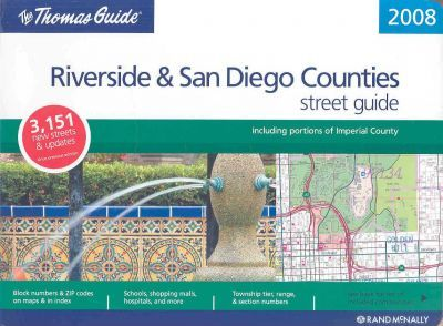 The Thomas Guide Riverside County Street Guide