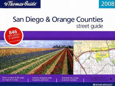 The Thomas Guide San Diego & Orange Counties Street Guide