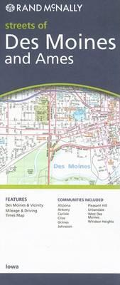 Rand McNally Streets of Des Moines and Ames