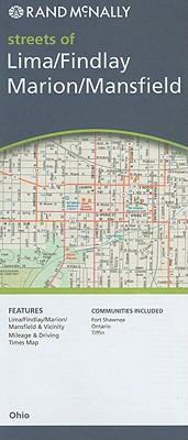 Rand McNally Streets of Lima/Findlay/Marion/Mansfield