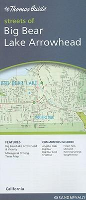 Thomas Guide Streets of Big Bear/Lake Arrowhead
