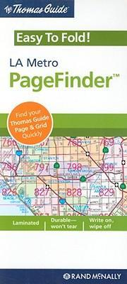The Thomas Guide Easy to Fold! LA Metro PageFinder