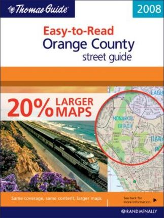 Easy-To-Read Orange County Street Guide