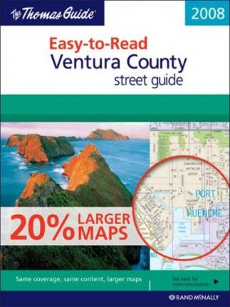 The Thomas Guide Ventura County Street Guide