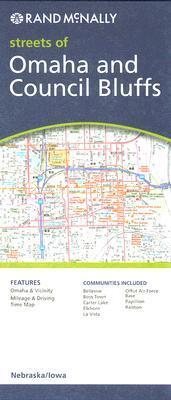 Rand McNally Streets of Omaha and Council Bluffs
