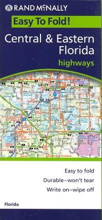 Rand McNally Easy to Fold! Central & Eastern Florida Highways