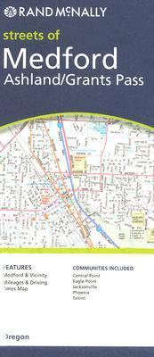 Rand McNally Streets of Medford Ashland/Grants Pass