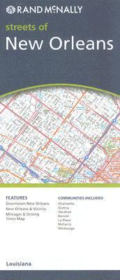 Rand McNally Streets of New Orleans
