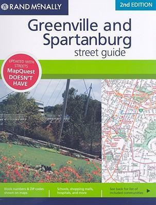 Greenville and Spartanburg Street Guide