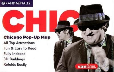 Rand McNally Chicago Pop-Up Map