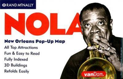 Rand McNally New Orleans Pop-Up Map