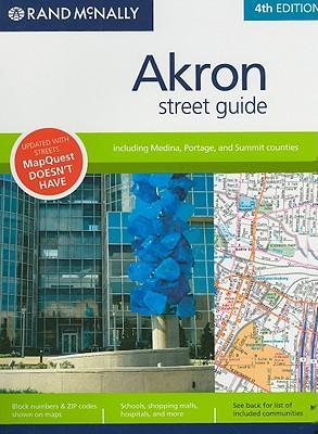 Rand McNally Akron Street Guide