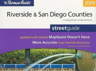 The Thomas Guide, Riverside & San Diego Counties Street Guide