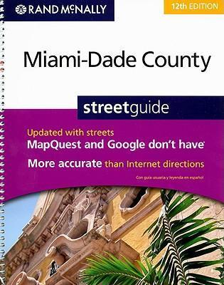 Rand McNally Miami-Dade County Streetguide