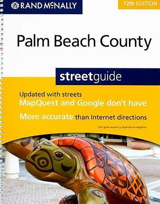 Rand McNally Palm Beach County Streetguide