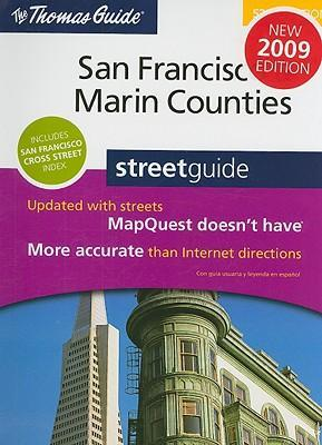 The Thomas Guide San Francisco & Marin Counties Street Guide