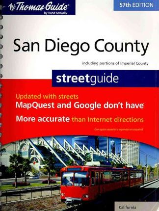 The Thomas Guide San Diego County Street Guide