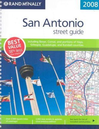 Rand McNally San Antonio Street Guide
