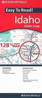 Rand McNally Easy to Read! Idaho State Atlas