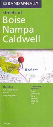 Rand McNally Streets of Boise Nampa Cladwell
