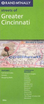Rand McNally Streets of Greater Cincinnati