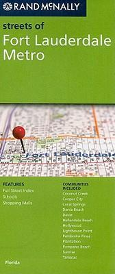 Rand McNally Streets of Fort Lauderdale Metro