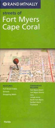 Rand McNally Streets of Fort Myers, Cape Coral, FL