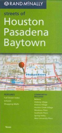 Rand McNally Streets of Houston