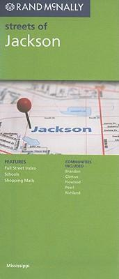 Rand McNally Streets of Jackson, Mississippi