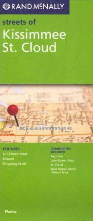 Rand McNally Streets of Kissimmee St. Cloud