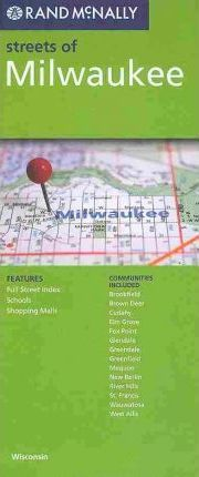 Rand McNally Streets of Milwaukee