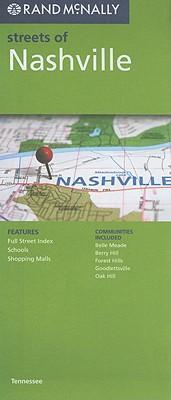 Rand McNally Streets of Nashville, Tennessee