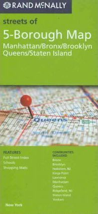 Rand McNally Streets of 5-Borough Map