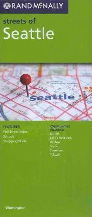 Rand McNally Streets of Seattle