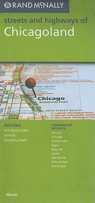 Rand McNally Streets and Highways of Chicagoland, IL