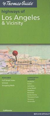 The Thomas Guide Highways of Los Angeles & Vicinity, CA