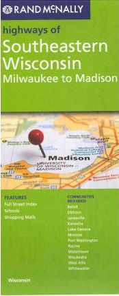 Rand McNally Highways of Southeastern Wisconsin