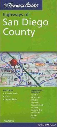 The Thomas Guide Highways of San Diego County, California