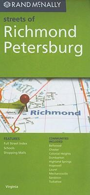 Rand McNally Streets of Richmond, Petersburg, VA