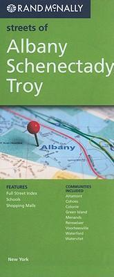 Rand McNally Streets of Albany, Schenectady, Troy