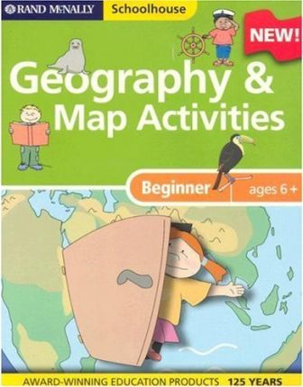 Schoolhouse Beginners Geography and Map Activiti