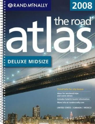 Deluxe Midsize Road Atlas