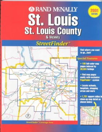 Rand McNally Saint Louis & Vicinity Streetfinder