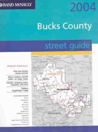 Rand McNally 2004 Bucks County Street Guide