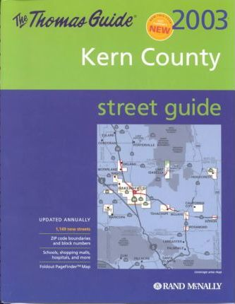 Thomas Guide 2003 Kern Country