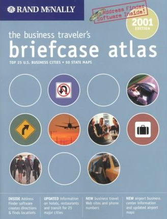 Business Traveler's Briefcase Atlas 2001: United States/Canada/Mexico