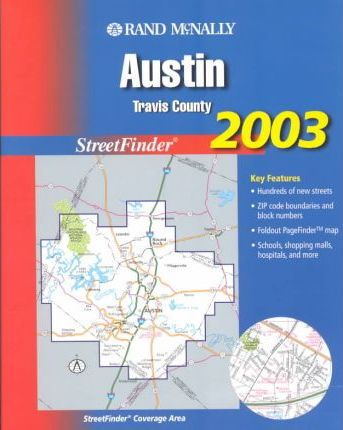Rand McNally Street Finder Austin/Travis County