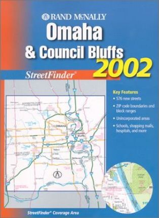 Rand McNally Omaha & Council Bluffs StreetFinder