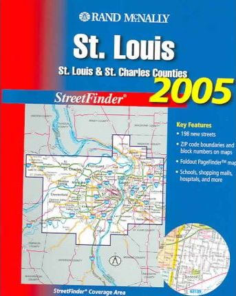 Rand McNally Streetfinder St. Louis